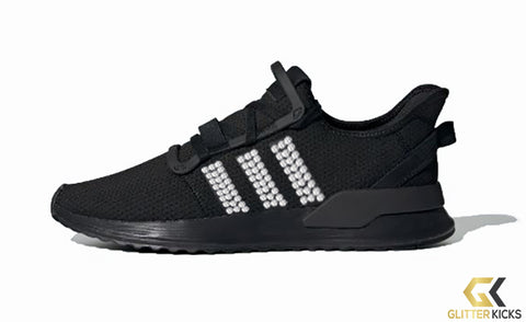 Adidas U_Path Run Shoes - Core Black/Core Black/Core Black