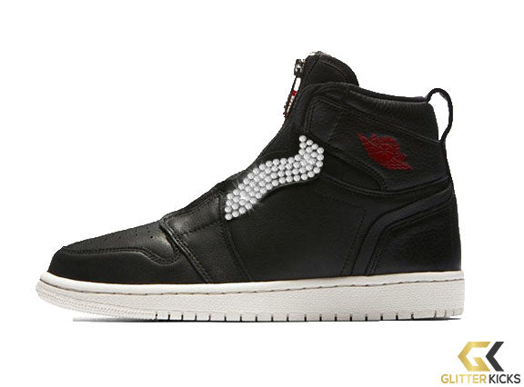 Air Jordan 1 High Zip Premium - Black