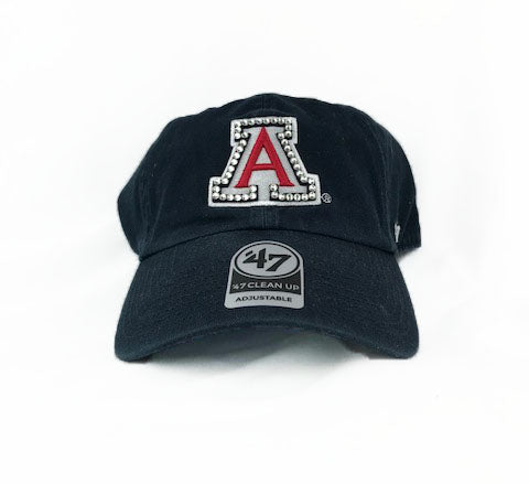 SALE - Arizona Wildcats '47 Brand Adjustable Cap + Crystals