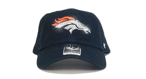Denver Broncos '47 Brand Adjustable Cap + Custom Swarovski Crystals