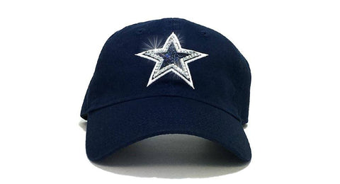 Dallas Cowboys '47 Brand Adjustable Cap + Custom Swarovski Crystals