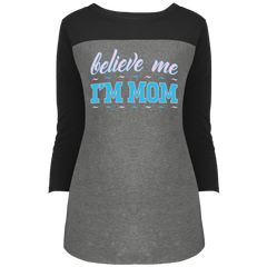 Believeme - DT2700 District Juniors' Rally 3/4 Sleeve T-Shirt