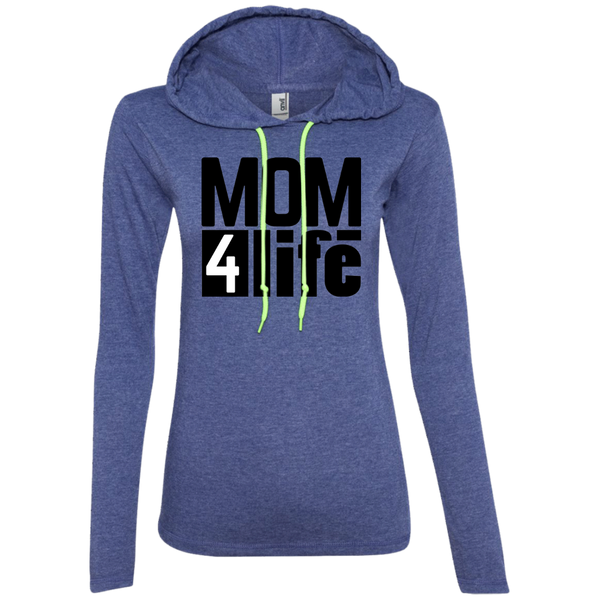 MOM4LIFE - 887L Anvil Ladies' LS T-Shirt Hoodie