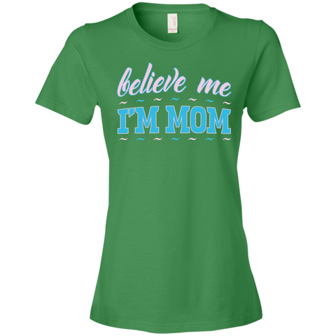 Believeme - 880 Anvil Ladies' Lightweight T-Shirt 4.5 oz