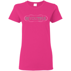 BEYOUTIFUL - G500L Gildan Ladies' 5.3 oz. T-Shirt
