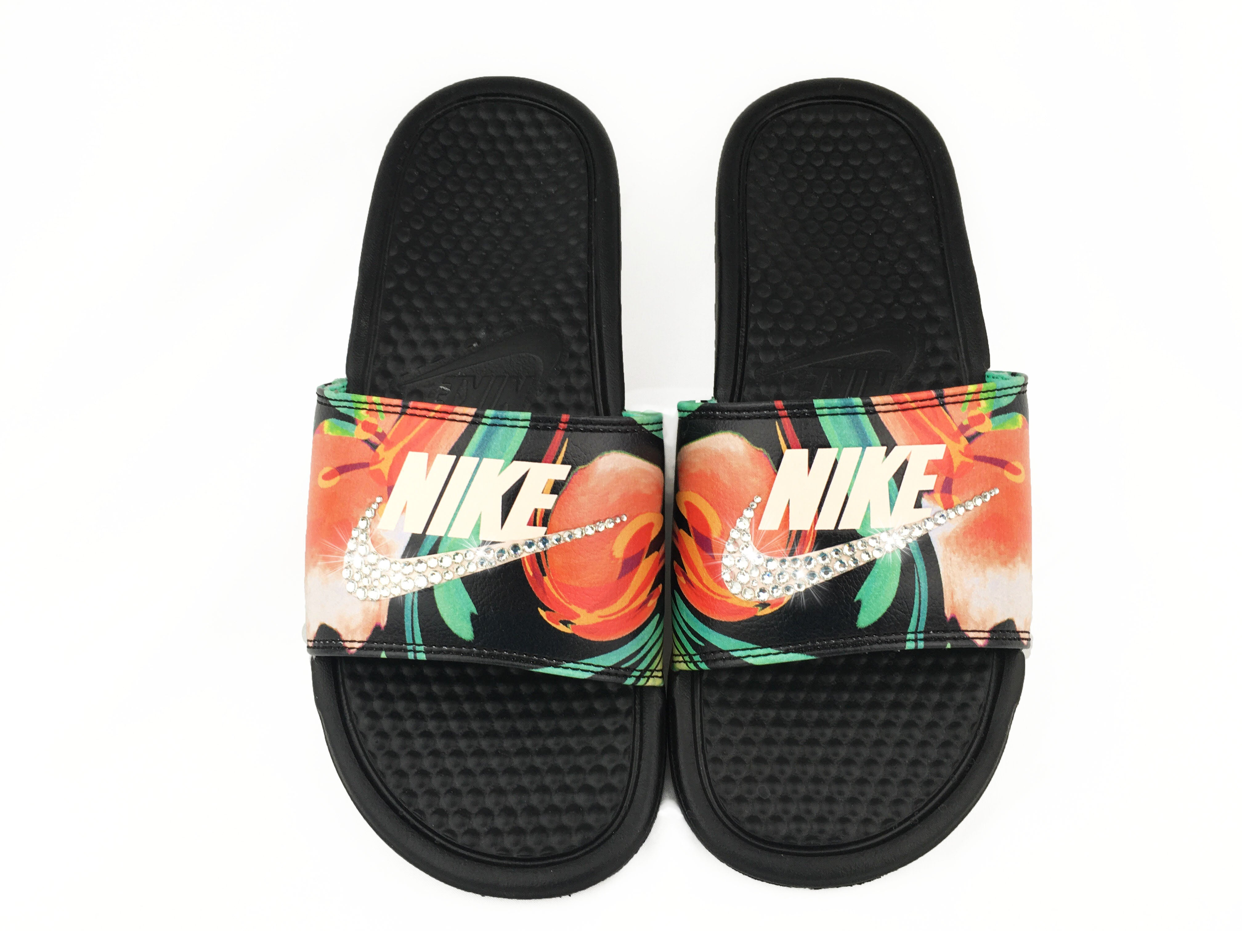 on sale 3b947 426d9 italy nike floral sandals 5434d ad2d6