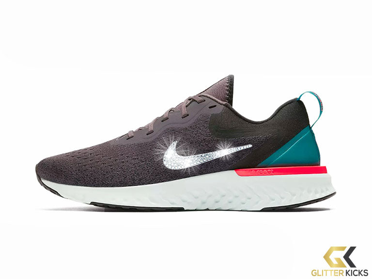 Nike Odyssey React  + Crystals - Thunder Grey