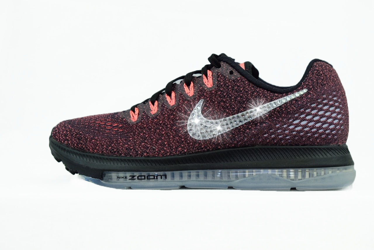 SALE - Nike Zoom All Out Low + Crystals - Lava Glow size 6