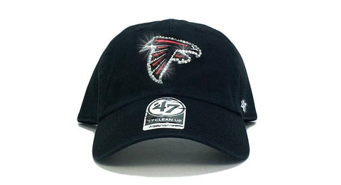 Atlanta Falcons '47 Brand Adjustable Cap + Custom Swarovski Crystals