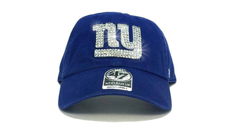 New York Giants '47 Brand Adjustable Cap + Custom Swarovski Crystals
