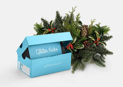 Holiday Gift Card + Miniature Shoe Box