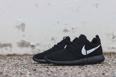 Nike Roshe One - Custom 'Oreo' Paint Speckle (Men's)