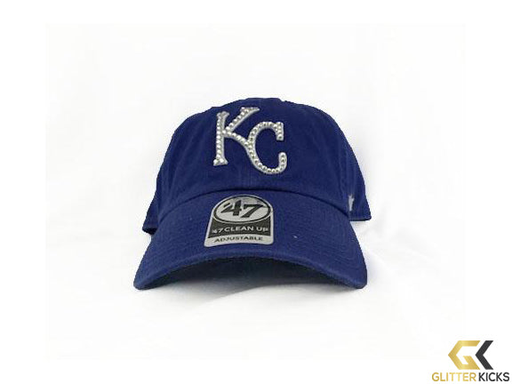 SALE - Kansas City Royals '47 Brand Adjustable Cap + Crystals