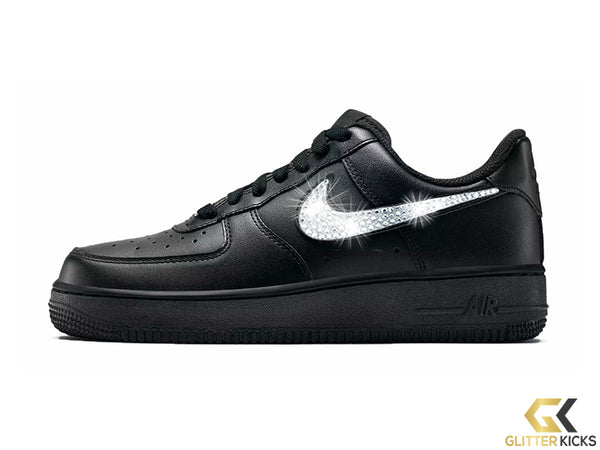 Nike Air Force 1 '07 + Crystals - Black