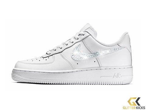 Nike Air Force 1 '07 + Crystals - White
