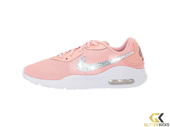 Nike Air Max Oketo + Crystals - Coral Stardust/Metallic Red Bronze/White