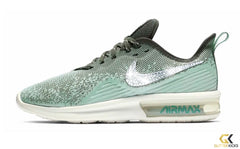 Nike Air Max Sequent 4 + Crystals - Blue Void/Teal Tint
