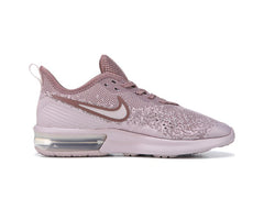 Nike Air Max Sequent 4 + Crystals - Particle Rose/Mauve