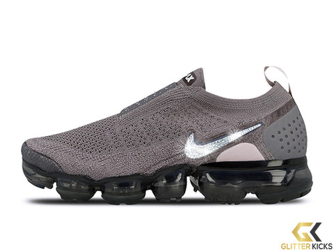 SALE - Nike Air VaporMax Moc 2 + Crystals - Gunsmoke - Size 5