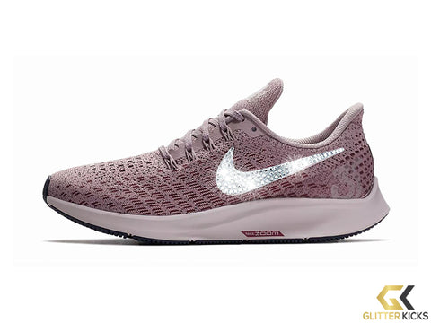 Nike Air Zoom Pegasus 35 + Crystals - Elemental Rose/Vintage Wine