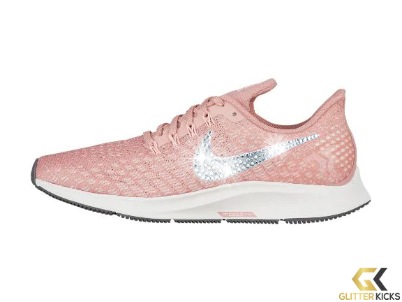 Nike Air Zoom Pegasus 35 + Crystals - Rust Pink