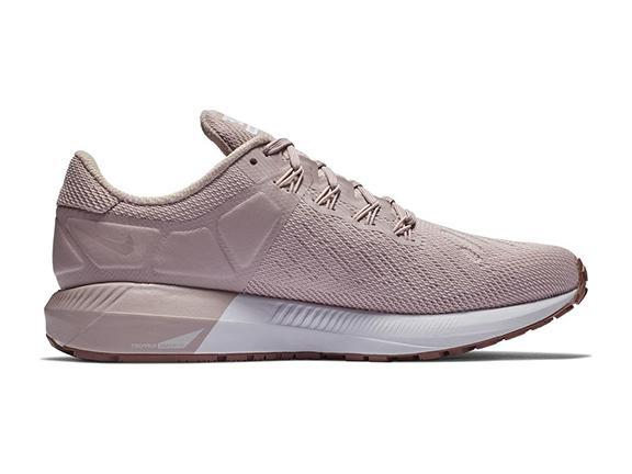 Nike Air Zoom Structure 22 + Crystals - Particle Rose Smokey Mauve White  ab57682d05d3