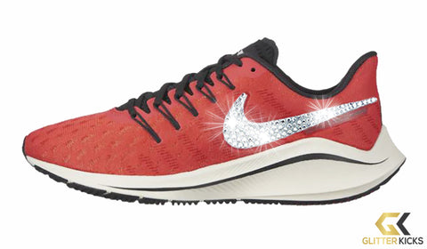 Women's Nike Air Zoom Vomero 14 + Crystals - Ember Glow/Summit White/Oil Grey