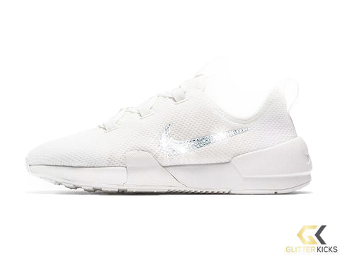 CLEARANCE - Nike Ashin Modern Run + Crystals - White - Size 8 (Slight  yellowing 9c03678d7406