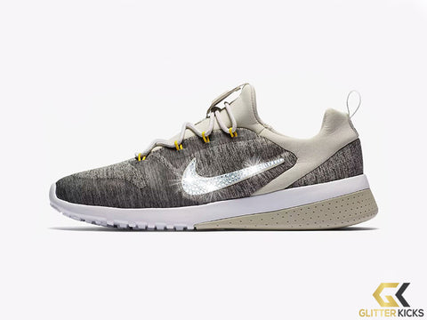 Nike CK Racer + Crystals - Light Bone