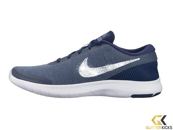 SALE - Nike Flex Experience RN 7 + Crystals - Navy