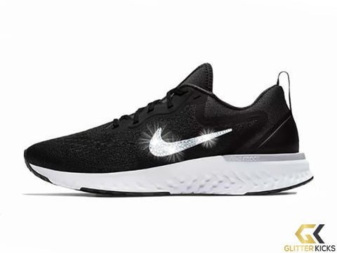 Nike Odyssey React + Crystals - Black and White e27a1e8d70cf