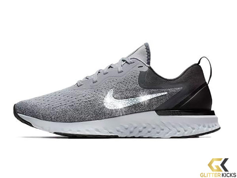 Nike Odyssey React + Crystals - Cool Grey 809606850