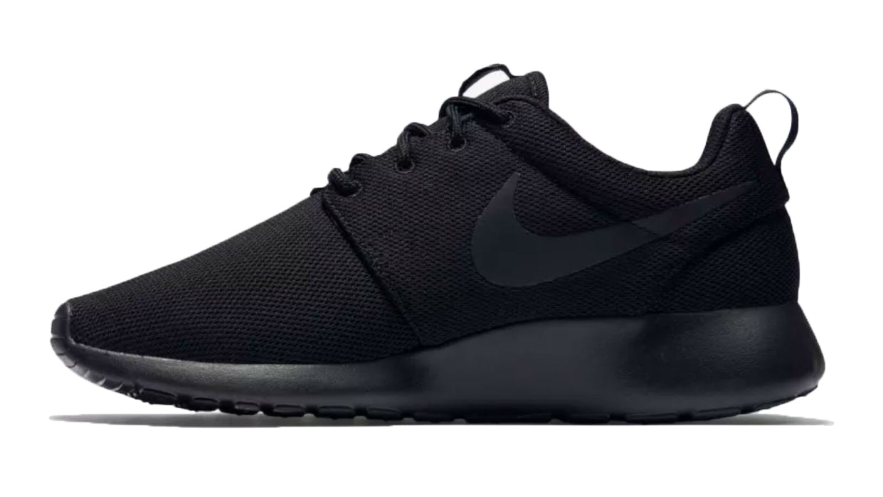 Nike Roshe One + Crystals - Triple Black – Glitter Kicks 1a1915c2a