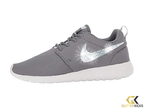 Nike Roshe One + Crystals -Cool Grey/Pure Platinum