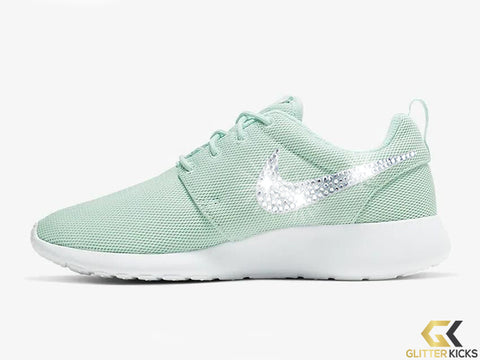 Women's Nike Roshe One + Crystals -Teal Tint