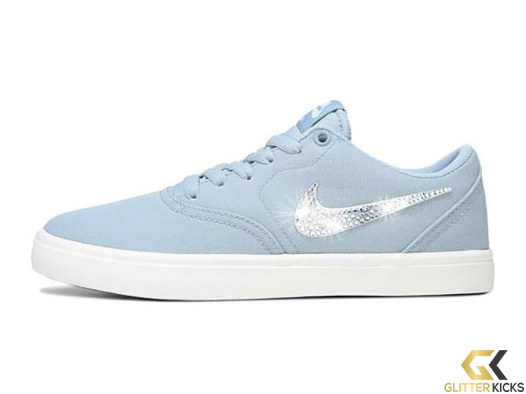 Nike SB Check Solar + Crystals - Light Blue