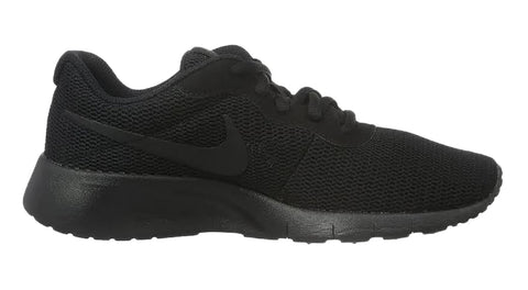 Girls' Nike Tanjun + Crystals - Triple Black - Big Kids' (3.5y-7y)