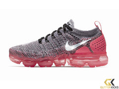 Sale - Nike Air VaporMax Flyknit 2 + Crystals - Grey/Pink - sz 9