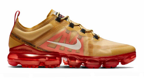 ... Nike Air VaporMax 2019 + Crystals - Club Gold Ember Glow 7a8d8741d9