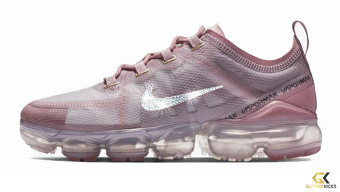 Nike Air VaporMax 2019 + Crystals - Plum Dust ef41c9e89f