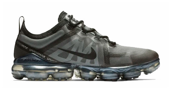 Women's Nike Air VaporMax 2019 + Crystals - Triple Black