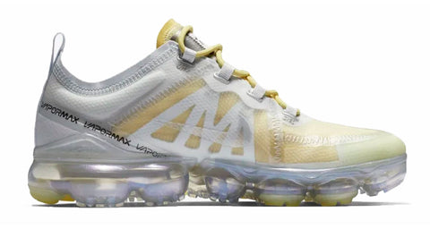 ... Nike Air VaporMax 2019 + Crystals - White  Gold 753cebda9b