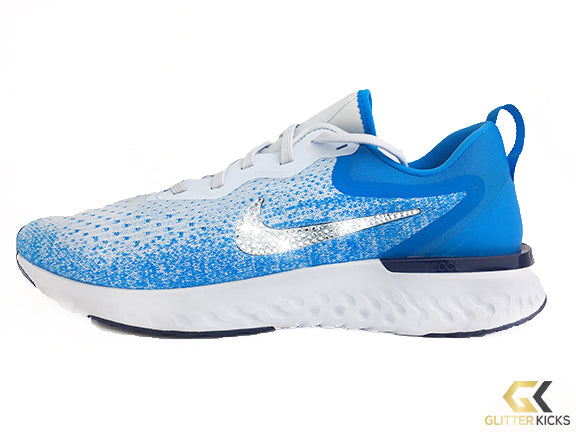 6684f2eed411 CLEARANCE - Nike Odyssey React + Crystals - Football Grey Blue Void ...