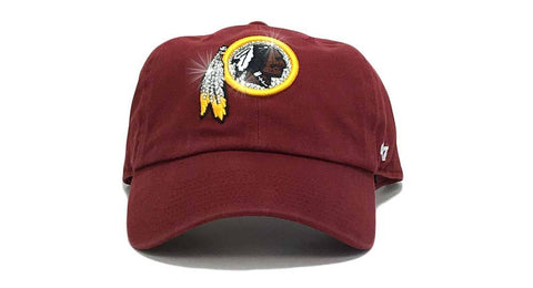 Washington Redskins '47 Brand Adjustable Cap + Custom Swarovski Crystals