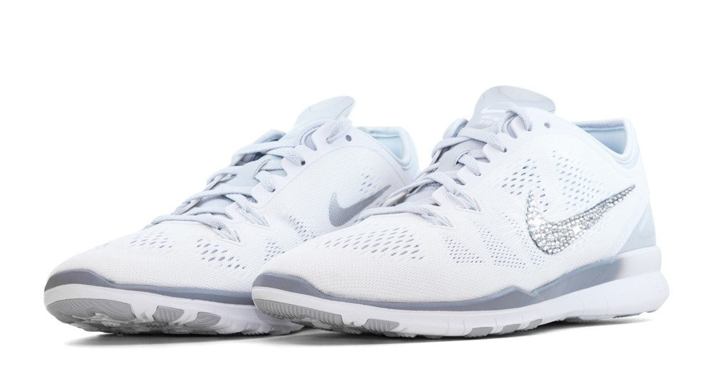 nike free run 5 all white