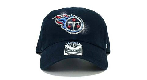 Tennessee Titans '47 Brand Adjustable Cap + Custom Swarovski Crystals