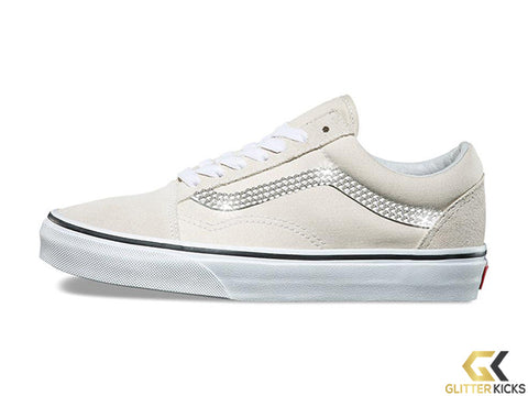 Women's Vans Old Skool + Crystals - Birch