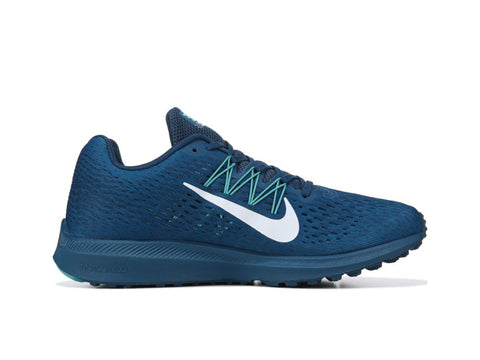 Nike Zoom Winflo 5 + Crystals - Blue Force Green Aby 410555edc3bb