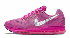 Nike Zoom All Out Low + Swarovski Crystal Swoosh - Pink