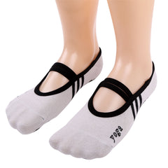 High Quality 1 Pair Fitness Socks Non Slip Pilates Massage Ballet Socks Exercise Soft Cotton Funny Socks sokken